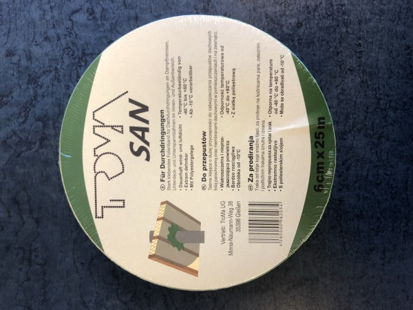 Troma Band Grün für Längsverklebung Cral 60mm x 25m