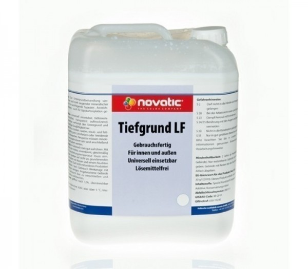 Novatic Tiefgrund LF farblos, 10 Liter