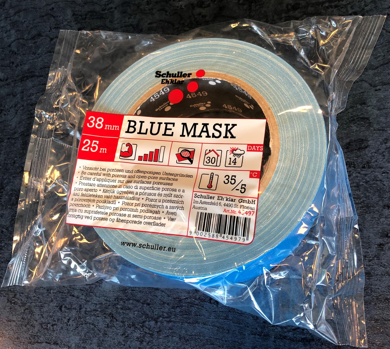 UV-Gewebebandblau 50mmx25m